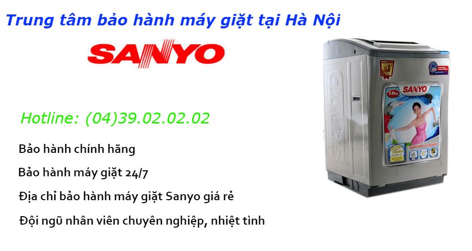 Bảo hành máy giặt sanyo tại nhà hà nội giá rẻ