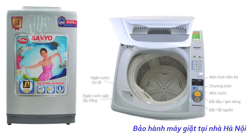 Bảo hành máy giặt sanyo tại nhà