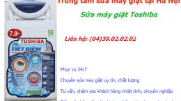 sửa máy giặt toshiba giá rẻ tại hà nội