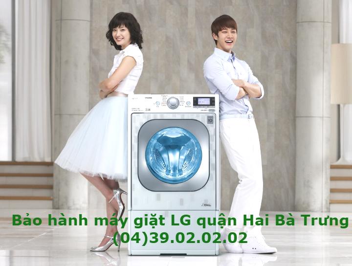 bảo hành máy giặt LG quận Hai bà trưng