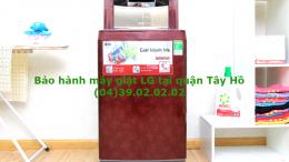 bảo hành máy giặt LG quận Tây Hồ