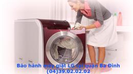 bảo hành máy giặt LG tại quận ba đình