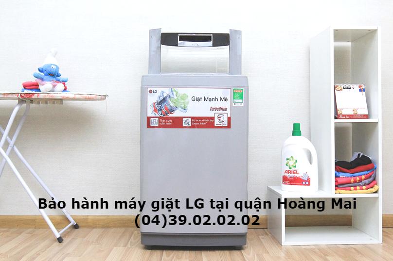 bảo hành máy giặt lg quận hoàng mai
