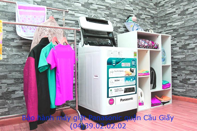 bảo hành máy giặt panasonic quận cầu giấy