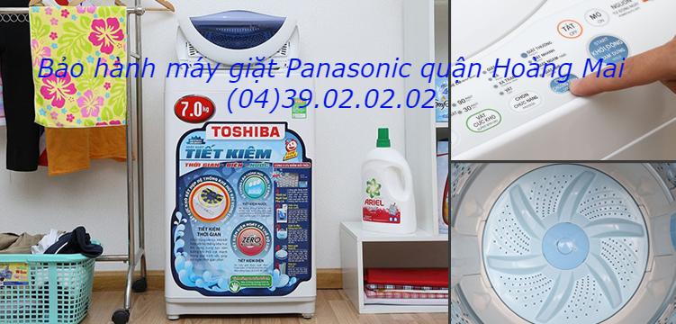 bảo hành máy giặt panasonic tại quận Hoàng Mai