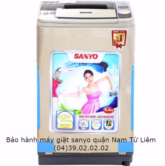 Bảo hành máy giặt sanyo quận nam từ liêm