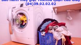 bảo hành máy giặt toshiba quận cầu giấy