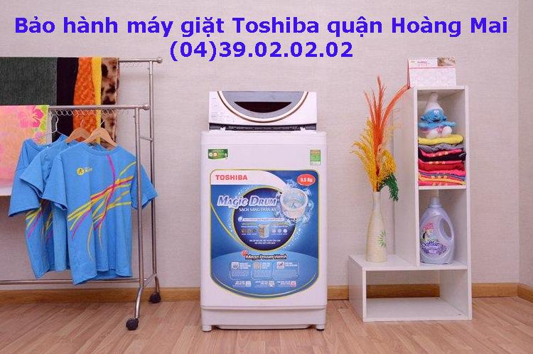 bảo hành máy giặt toshiba quận hoàng mai