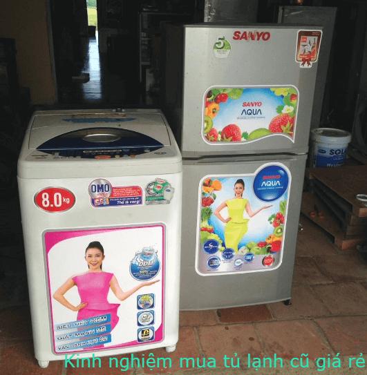 hướng dẫn mua tủ lạnh cũ giá rẻ cho sinh viên