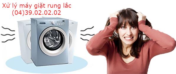 Xử lý tình trạng máy giặt electrolux bị rung lắc