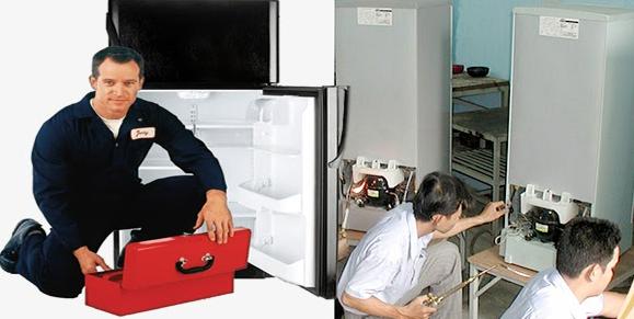 tủ lạnh bị kêu lụp bụp khi hoạt động