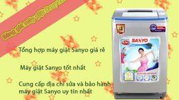 bảng giá máy giặt Sanyo rẻ nhất 2016