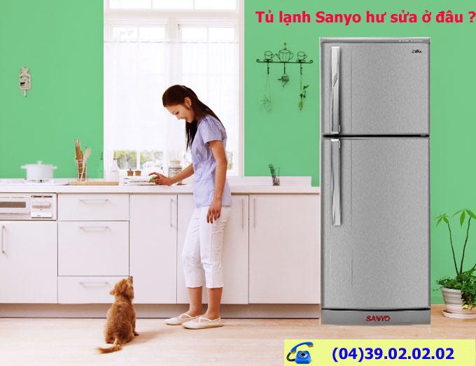 địa chỉ sửa tủ lạnh sanyo tại hà Nội