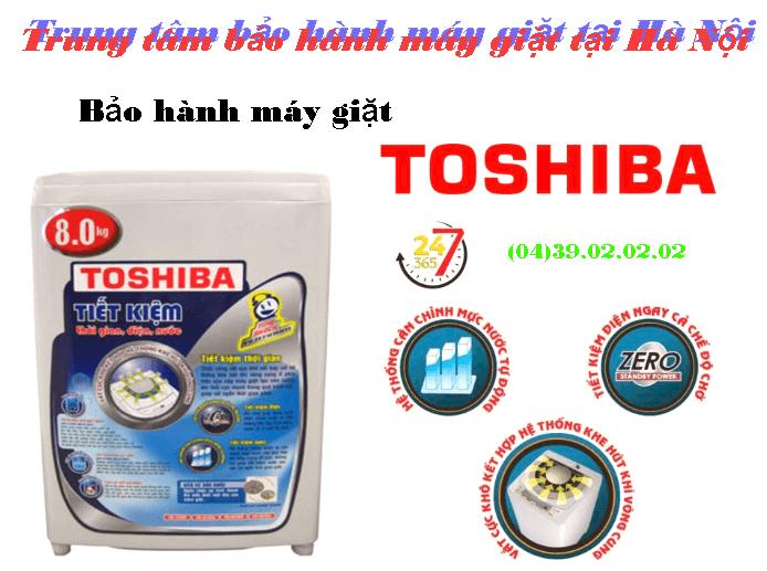 dịch vụ bảo hành máy giặt Toshiba tại hà nội