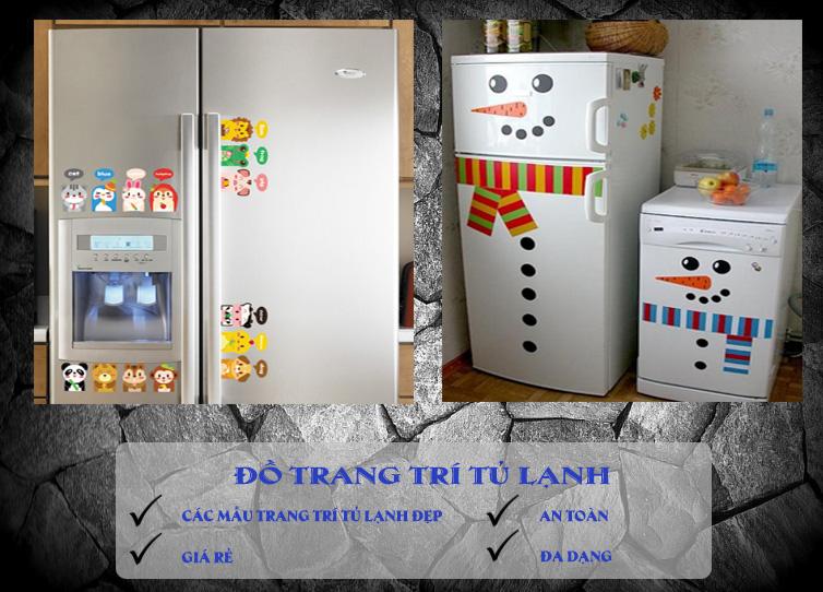 đồ trang trí tủ lạnh