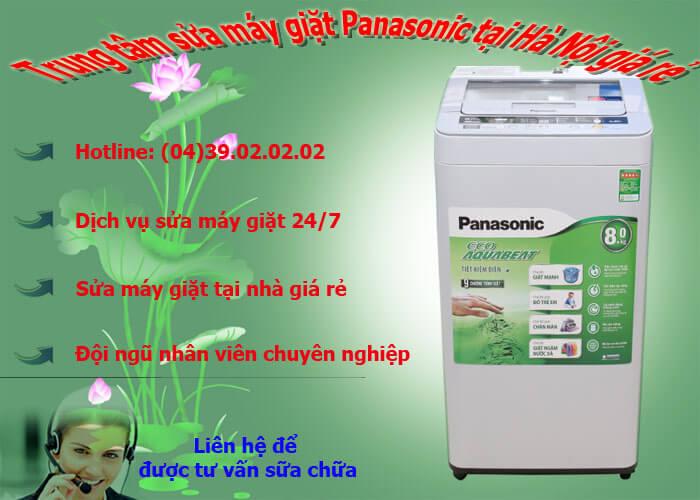 sửa máy giặt panasonic tại hà nội giá rẻ