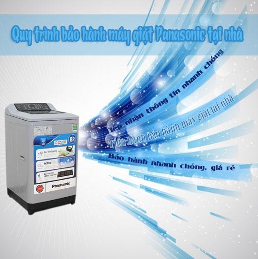 các bước bảo hành máy giặt panasonic tại nhà
