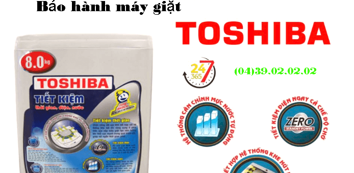 Bảo hành Toshiba tại Hà Nội